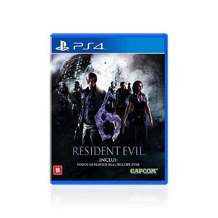 Jogo Game Resident Evil 6 - PS4