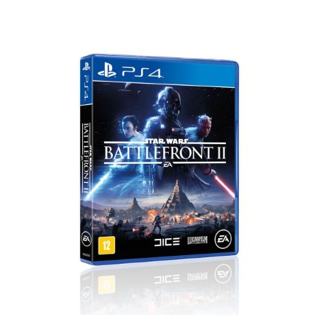 Jogo Game Star Wars Battlefront 2 Midia Fisica - Ps4