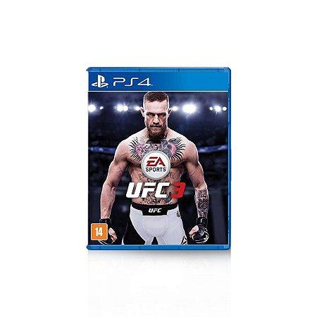 Jogo Game UFC 3 - PS4
