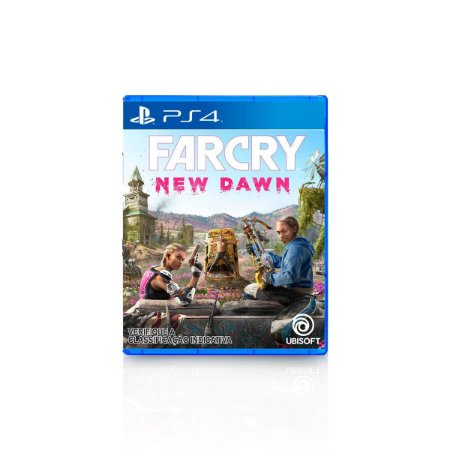 Jogo Game Far Cry New Dawn - PS4