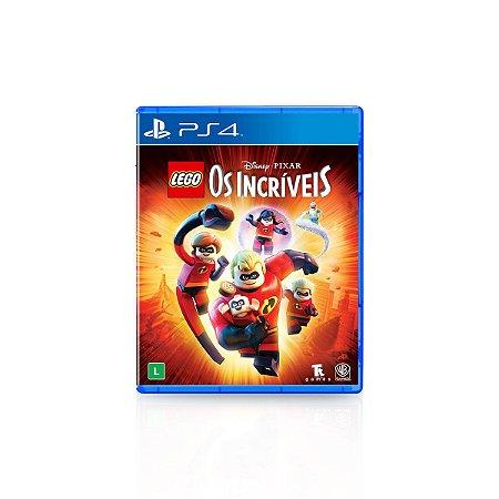 Jogo Game Infantil Lego Os Incríveis - PS4