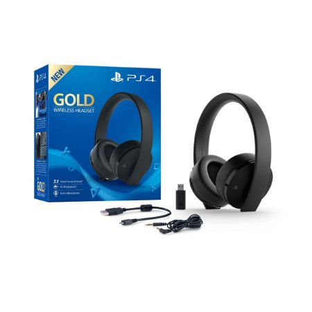 Fone de Ouvido Playstation Gold Series (Wireless Headset) - PS4