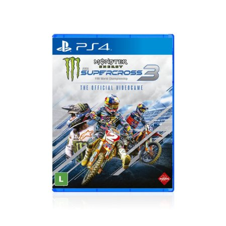Jogo Game Monster Energy Supercross 3 - Ps4