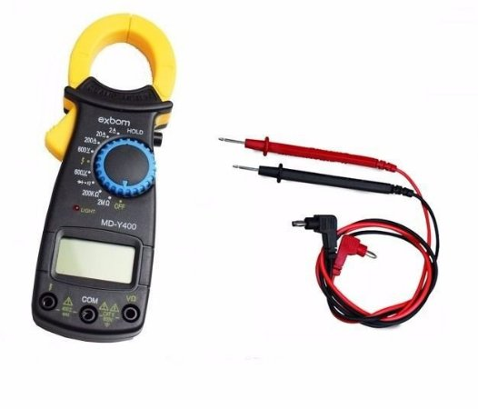 Alicate Amperímetro Digital MDY-400