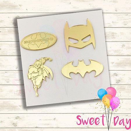 Aplique Kit Batman ( 20 peças) 5 cm