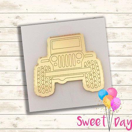 Aplique Jeep ( 10 peças) 5 cm