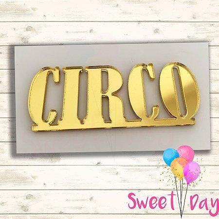 Aplique Circo  6 cm ( 10 peças )
