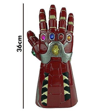 Manopla Infinito Hulk Led Thanos Vingadores Alta Qualidade