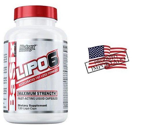 Lipo 6 120caps Importado Original EUA Nutrex Research
