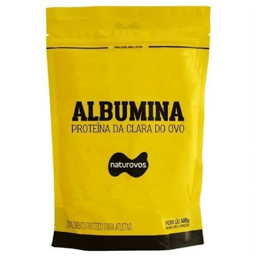 Albumina 500g Naturovos - Escolha o Sabor