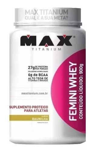 Femini Whey Protein ( Mulher ) - Max Titanium - 900g