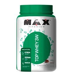 Top Whey 3w Mais Natural 900g Morango