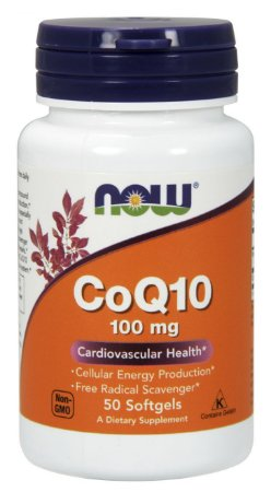 Coenzima Q-10 (Coq10- 100Mg 50 Cápsulas) - Now Foods