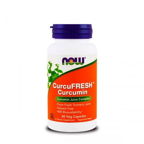 Now Curcufresh Curcumina 500mg (60 Vcaps)