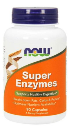 Now Super Enzyme (90 Vcaps) Enzimas Digestivas