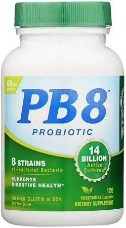 Pb8 Probiotico 14 Billion Vegetariano 120 Caps Now Importado