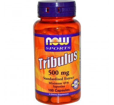 Tribulus 500 Mg Com 45% Saponinas Now Sports