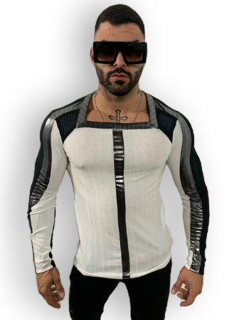 Camisa M/L Look - BRANCA