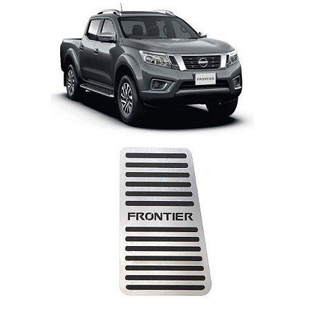 Descanso De Pé Nissan Frontier 2017 a 2021 Aço Inox GPI