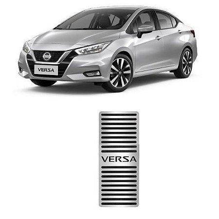 Descanso De Pé Nissan Versa 2021 2022 Aço Inox GPI