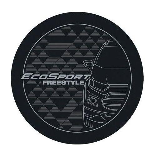 Capa de Estepe Comix Ecosport New Freestyle Cinza e Prata