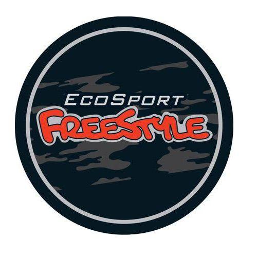 Capa de Estepe Comix Ford Ecosport Freestyle Laranja