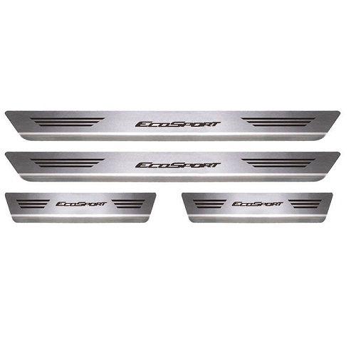 Soleira Porta Ford Ecosport Mult Aço Inox Escovado