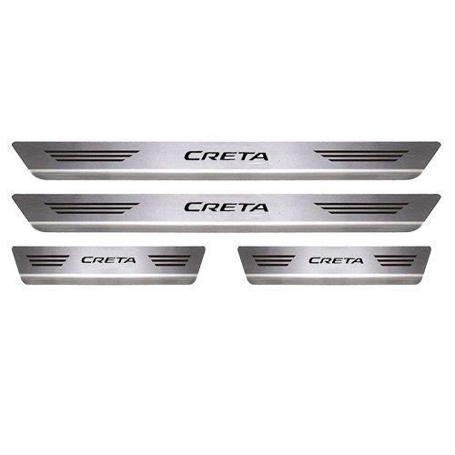 Soleira Porta Hyundai Creta Mult Aço Inox Escovado
