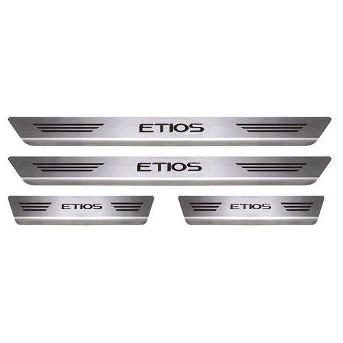 Soleira Porta Toyota Etios Mult Inox Escovado