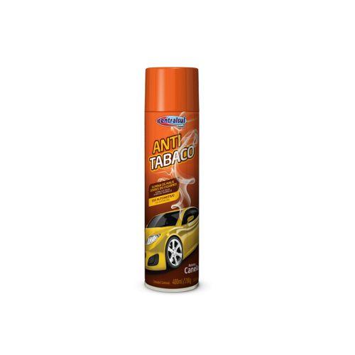Higienizador Anti Tabaco Eliminador de Odores Centralsul Canela 400ml
