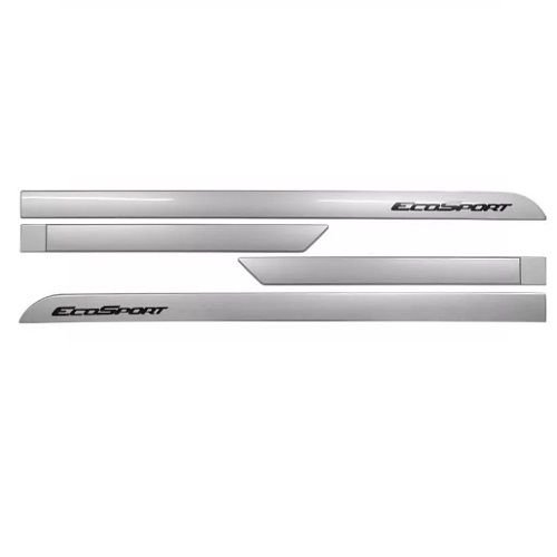 Kit Friso Lateral Sean Car Ford Ecosport 2013 a 2018 Prata Enseada