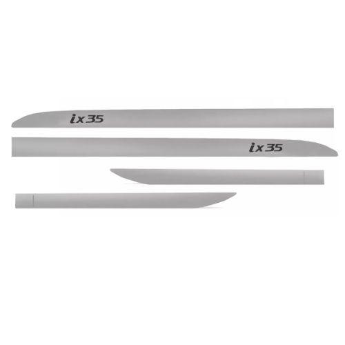Kit Friso Lateral Sean Car Hyundai IX35 Prata Sleeksilver