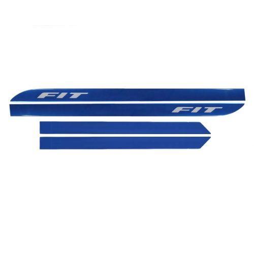 Kit Friso Lateral Sean Car Honda Fit Azul Boreal