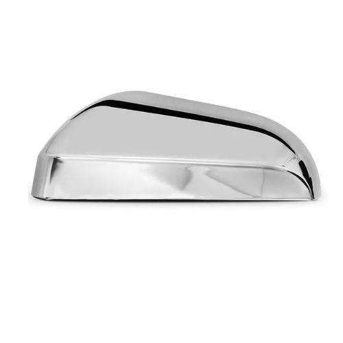 Capa de Retrovisor ShekParts Chevrolet Onix 2013 a 2019 Esquerdo Cromado