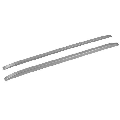 Longarina de Teto Decorativa Universal TG Poli 1.35m Slim Prata Par