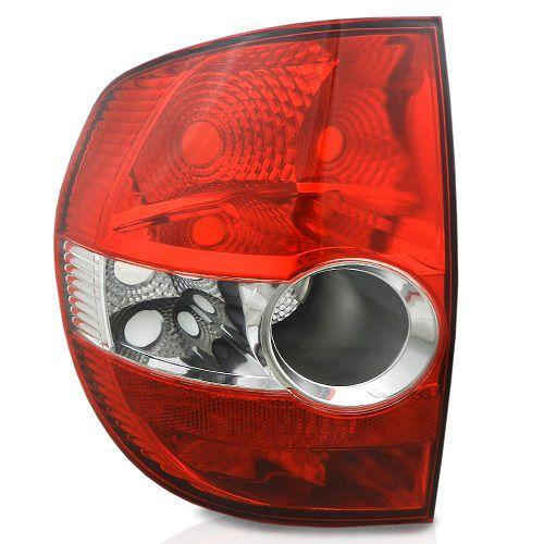 Lanterna Traseira Cofran Fox 2004 a 2010 Bicolor Esquerdo