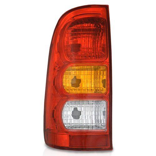 Lanterna Traseira Cofran Hilux 2005 a 2011 Tricolor Esquerdo