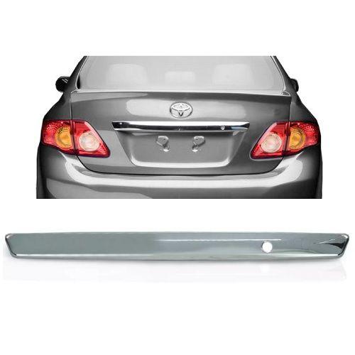 Aplique Porta Malas ShekParts Corolla 2008 a 2011 Cromado