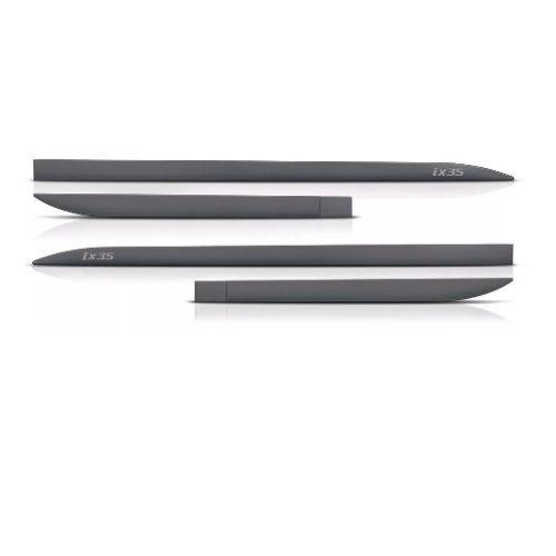 Kit Friso Lateral Slim Flash Hyundai IX35 Cinza Titanium