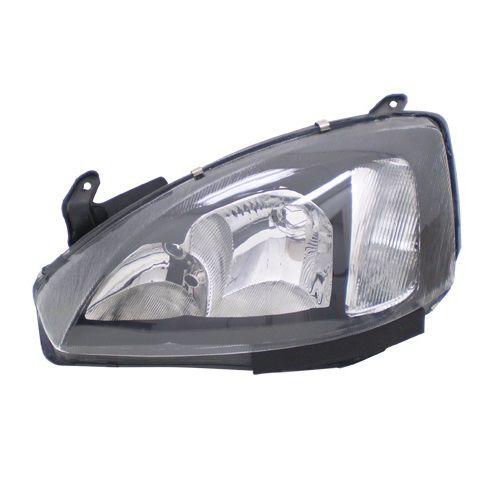 Farol Corsa 2003 a 2007 Esquerdo Mascara Negra Automotive Imports