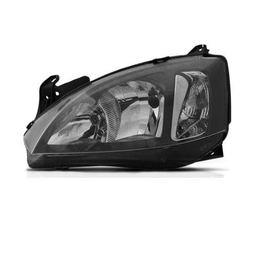 Farol Corsa 2008 a 2012 Esquerdo Mascara Negra Automotive Imports