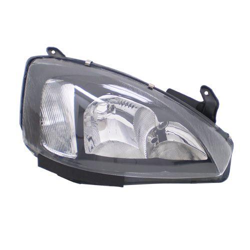 Farol Corsa 2003 a 2007 Direito Mascara Negra Automotive Imports