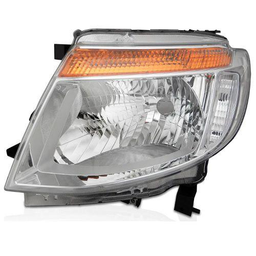 Farol Ranger 2012 a 2015 Esquerdo Cromado Automotive Imports