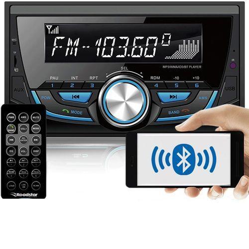 Rádio Automotivo RS3707BR AM FM MP3 USB SD Bluetooth Roadstar