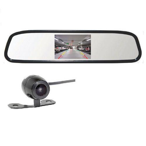Retrovisor com Câmera de Ré e Tela LCD 4,3 Polegadas RS-501BR Roadstar