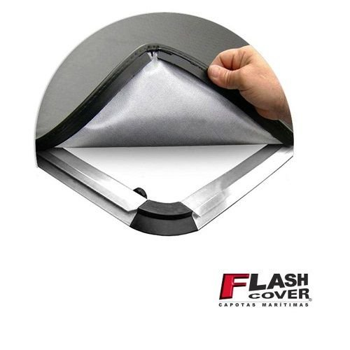Capota Maritima Flash Cover Ranger Simples XLS 2013 a 2020 Slim Eco