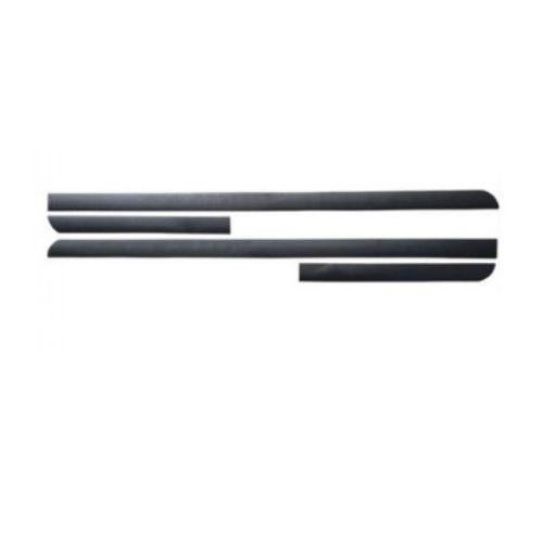 Kit Friso Lateral Sanfil Volkswagen Gol G6 2 Portas 2013 a 2016 Preto