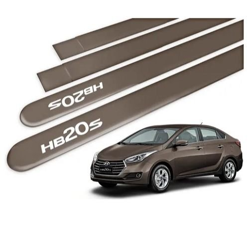 Kit Friso Lateral Sanfil Hyundai HB20S Sedan 2015 a 2019 Bronze Terra