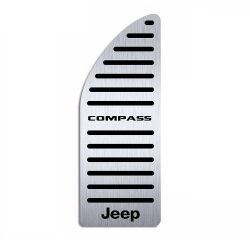 Descanso De Pé Aço Inox Jeep Compass 2017 a 2020