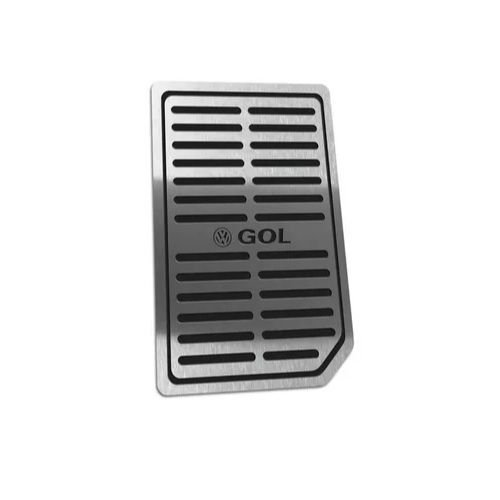 Descanso De Pé Aço Inox Volkswagen Gol G6/G7 2012 a 2020